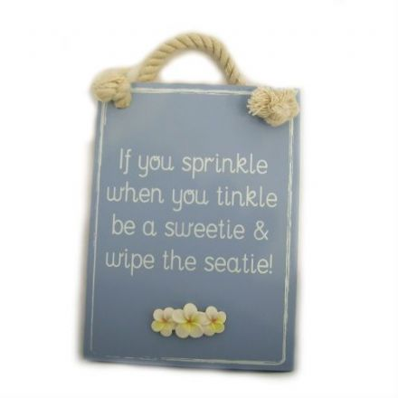 Sprinkle Wall Plaque, Funny Phrases